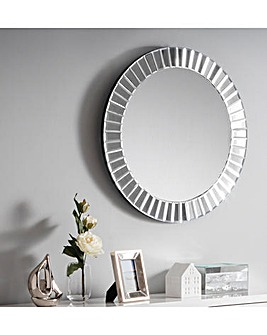 Ria Small Round Wall Mirror