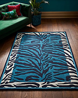 Joe Browns Safari Inspired Zebra Rug