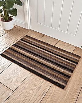 Ocean Stripe Coir Door Mat