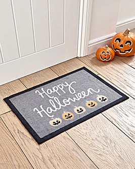 Happy Halloween Door Mat