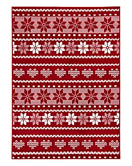Christmas Fairaisle Rug