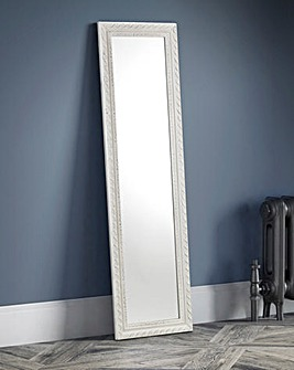 Hispi Dress Mirror White