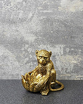 Resin Monkey Tealight holder