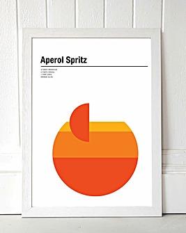 Aperol Spritz Framed Wall Art