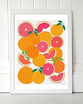 Grapefruit Harvest Wall Art
