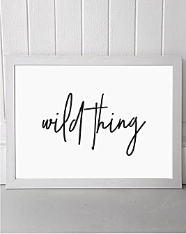 Wild Thing Framed Wall Art