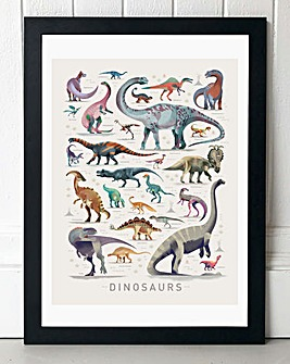 Dinosaurs by David Braun Wall Art