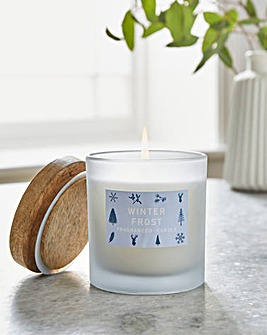 Winter Frost Medium Candle