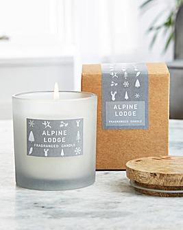 Alpine Lodge Medium Candle