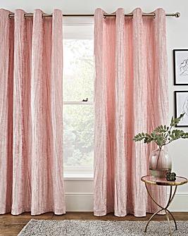 Crinkle Velvet Curtains