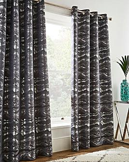 Marble Jacquard Curtains