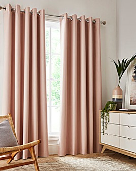Sunset Black Out Thermal Eyelet Curtains