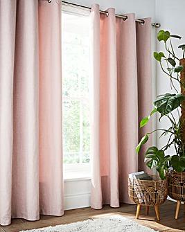 Brushed Eyelet Curtains