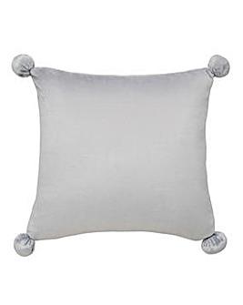 Pom Pom Fleece Cushion