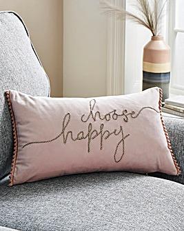 Choose Happy Cushion