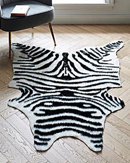 Faux Zebra Hide