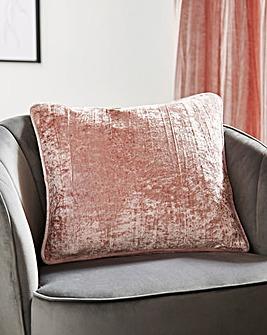 Crinkle Velvet Cushion
