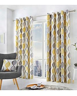 Fusion Lennox Eyelet Curtains