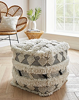 Tufted Pouffe