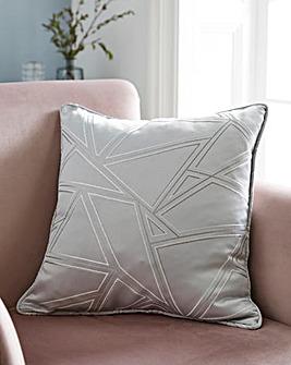 Metallic Yarn Geo Cushion
