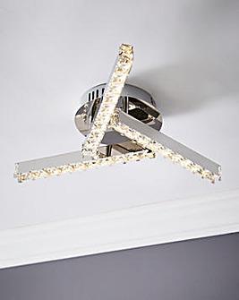 Astro 3 Arm LED Ceiling Light