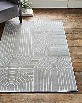 Abstract Ovals Rug