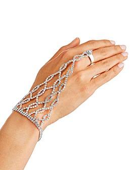 Hand Flower Bracelet