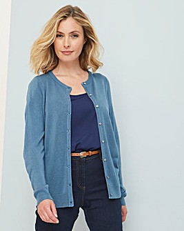 Julipa Super Soft Round Neck Cardigan