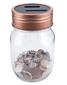 Money Counting Jar