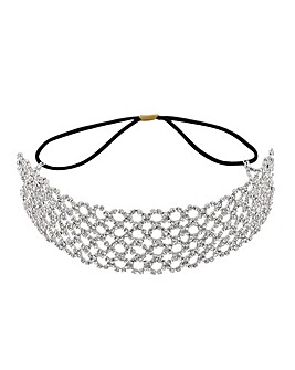 Mood Diamante Stretch Headband
