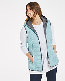 Julipa Gilet with Contrast Trim