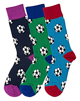 Football Socks 3 Assorted