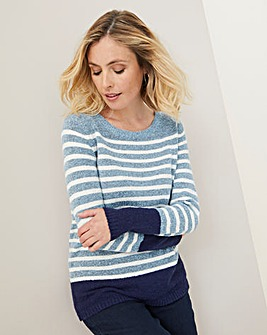 Julipa Boucle Stripe Jumper