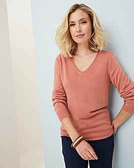 Julipa Super Soft V Neck Jumper