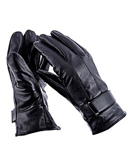 Thinsulate Lined Leather Gloves