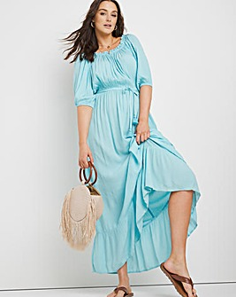 Maya Bardot Maxi Beach Dress
