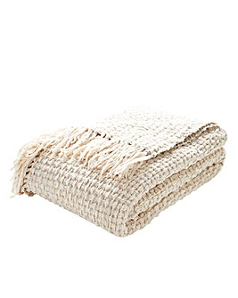 Super Soft Basket Weave Throw