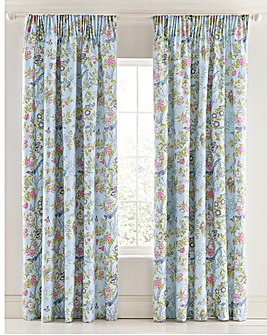 V&A Chinese Bluebird Curtains
