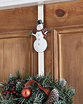 Overdoor Wreath Hanger Snowman