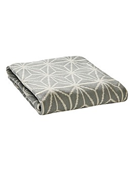Glace Geo Knitted Throw