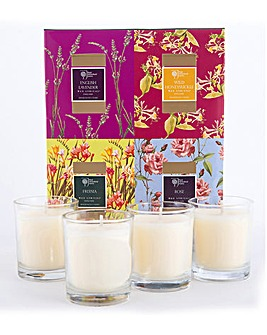 RHS Candles Gifts Set of 4