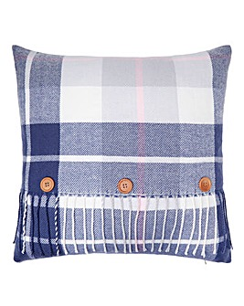 Lorraine Kelly Loch Lomond Check Cushion