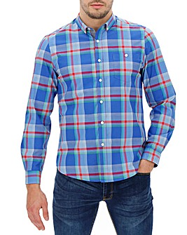 Blue Check Long Sleeve Shirt R
