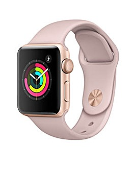 Apple S3 GPS 38m Pink Sport Band