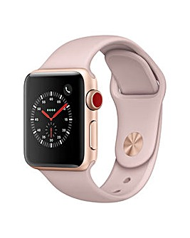 Apple Watch 3 38mm Pink Sport Band