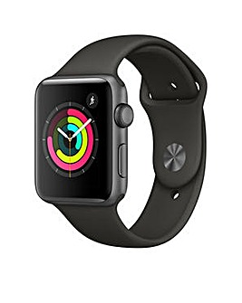 Apple S3 GPS  38m Grey Sport Band