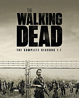 Walking Dead Season 1 to 7 Bluray