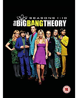 Big Bang Theory Season 1 to 10 DVD
