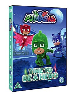 PJ Mask  Time to be a Hero DVD