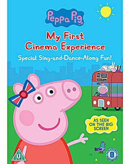 Peppa Pig My First Cinema Experience DVD